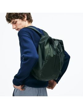 Men's Lacoste Motion Technical Nylon Collapsible Backpack by Lacoste