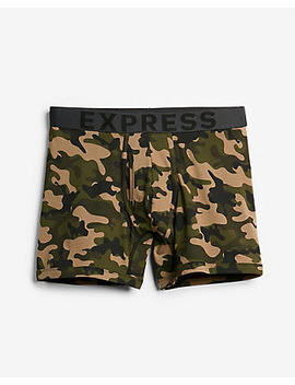 Camo Print Boxer Briefs by Express