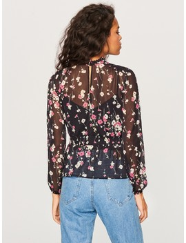 Floral Print Blouse by Reserved
