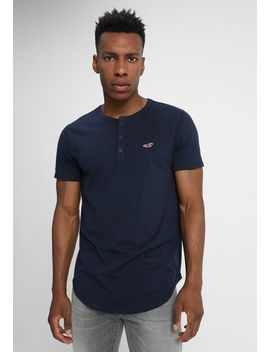 Henley Solid   T Shirt Basic by Hollister Co.