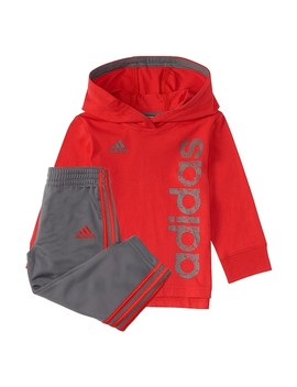 Toddler Boy Adidas Logo Pullover Hoodie & Pants Set by Kohl's
