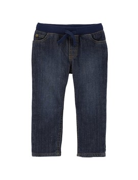 Toddler Boy Carter's Pull On Jeans by Kohl's
