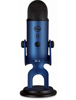 Yeti Usb Multi Pattern Electret Condenser Instrument And Vocal Microphone by Blue Microphones