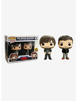 Funko Stranger Things Pop! Television The Duffer Brothers Vinyl Figure Set Limited Edition Hot Topic Exclusive by Hot Topic