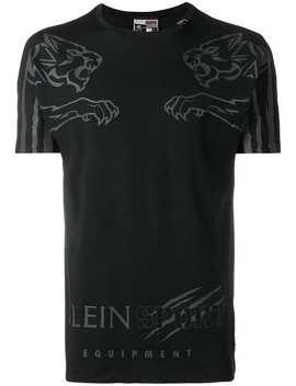 Plein Sport T Shirt Mit Logo Print Home Herren Plein Sport Kleidung T Shirts Sneakers Mit Schnürung Shorts Mit Logo T Shirt Mit Logo Print by Plein Sport