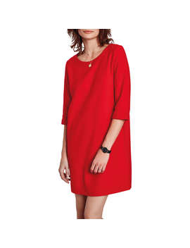 Hush Felix Dress, Red Ruby by Hush