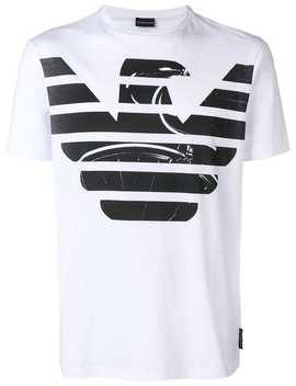 Emporio Armani T Shirt Mit Logo Print Home Herren Emporio Armani Kleidung T Shirts by Emporio Armani