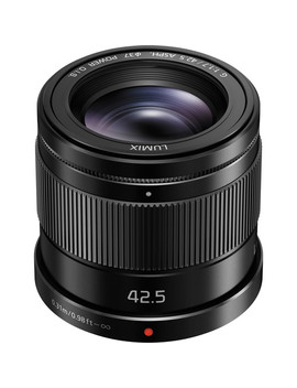 Lumix G 42.5mm F/1.7 Asph. Power O.I.S. Lens by Panasonic