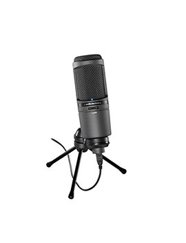 Audio Technica At2020 Us Bi Cardioid Condenser Usb Microphone by Audio Technica