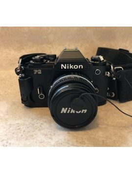 Tested Black Nikon Fg 35mm Film Camera W/Nikkor 50mm 1.8 Ais by Nikon