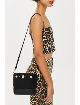 Stud Bucket Bag by Topshop