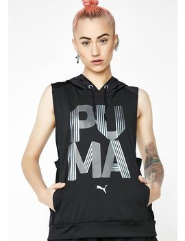Punch Hood Vest by Puma