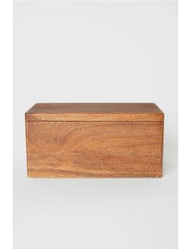 Holzkasten Mit Deckel by H&M