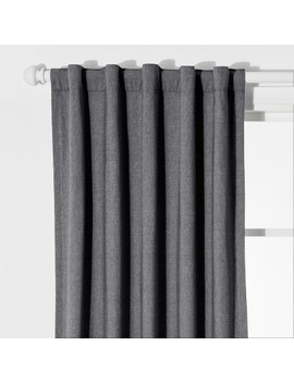 Chambray Blackout Curtain Panel   Pillowfort™ by Shop All Pillowfort™