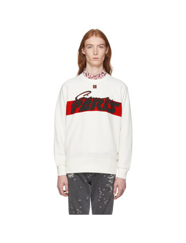 Off White Motocross Print Sweatshirt by Givenchy