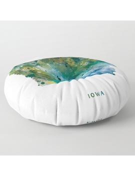 Iowa Floor Pillow by