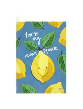 Lemon Tea Towel by Cath Kidston