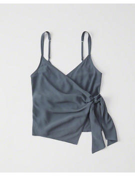 Wrap Front Tank by Abercrombie & Fitch