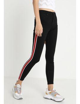 Airtex Stripe Jamie   Jeans Skinny Fit by Topshop