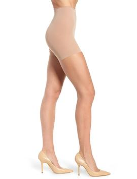 The Nudes Whisper Weight Control Top Pantyhose by Donna Karan New York