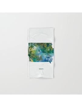 Iowa Hand & Bath Towel by