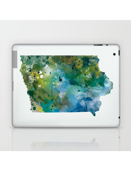 Iowa Laptop & I Pad Skin by