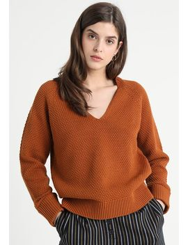 Slfsuma V Neck    Strikpullover /Striktrøjer by Selected Femme
