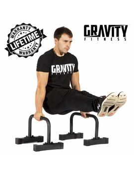 Gravity Fitness Parallettes For Crossfit, Calisthenics, Gymnastics, Bodyweight by Amazon