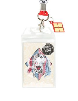 Dc Comics Suicide Squad Harley Quinn Lanyard by Hot Topic