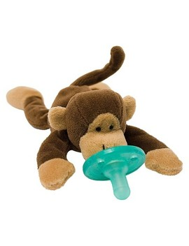 Wubba Nub® Monkey Pacifier   Brown by Shop All Wubba Nub