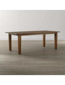 Basque Honey Dining Tables by Crate&Barrel