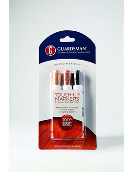 Guardsman Wood Touch Up Markers   3 Colors   Touch Up And Repair Scratches   465000 by Guardsman