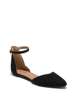 Mellie Ankle Strap Flat by Madden Girl