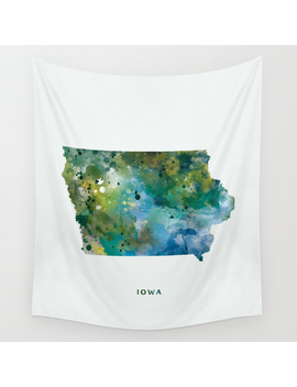 Iowa Wall Tapestry by