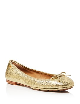 Women's Laila Leather Driver Ballet Flats by Tory Burch