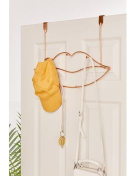 Lips Metal Over The Door Multi Hook by Urban Outfitters