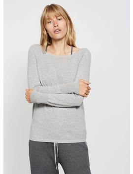 Grey Cashmere Tie Back Knit by Mint Velvet