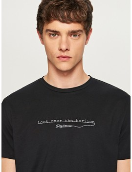 T Shirt Look Over The Horizon by Reserved