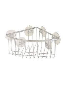 Aquaracks Deep Corner Basket by Dunelm