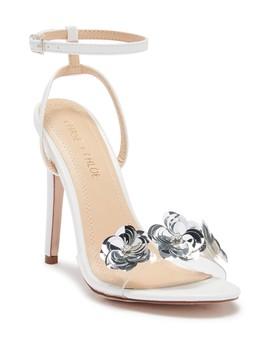 Gigi Floral Ankle Strap Sandal by Chase & Chloe