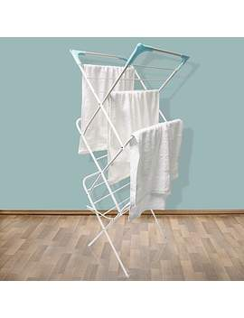 White Deluxe 3 Tier Airer by Dunelm