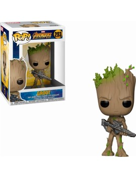 Pop! Marvel: Avengers Infinity War   Groot   Brown by Funko