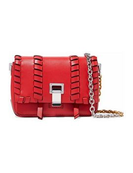 Courier Whipstitched Leather Shoulder Bag by Proenza Schouler