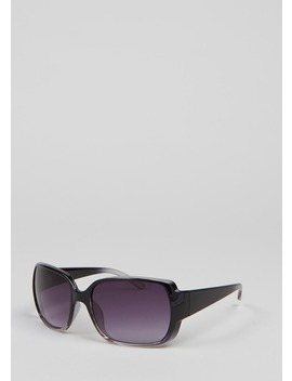 Two Tone Square Sunglasses by Matalan