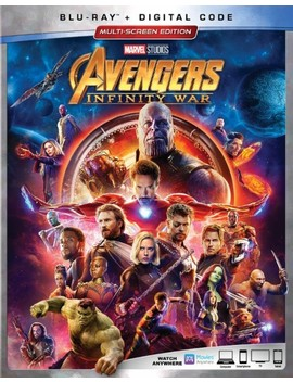 Ay] [2018] by Avengers: Infinity War [Includes Digital Copy] [Bl