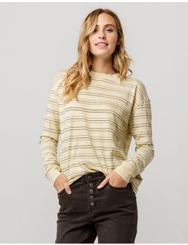 Rvca Feeder Stripe Womens Tee by Rvca