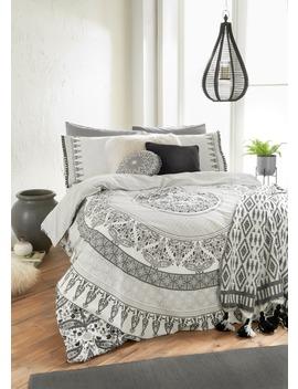 100 Percents Cotton Mandala Duvet Cover by Matalan