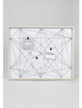 Photo Memo Board (62cm X 50cm) by Matalan
