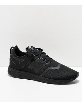 New Balance Lifestyle 247 Deconstructed Black Shoes by New Balance