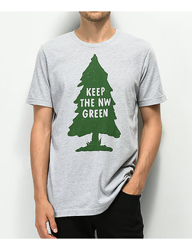 The Great Pnw Preserve Grey T Shirt by The Great Pnw